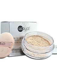1Pcs  Brand Silk Golden Loose Powder Makeup Face Foundation Contour Press Powder Oil-Control Concealer Brighten Skin