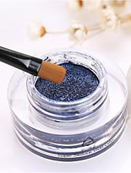 1Pcs High Quality Waterproof Three-Dimensional Shining Eye Shadow Air Cushion Of Shimmer Eyeshadow Cream