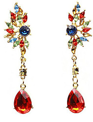 Women's Drop Earrings Fashion Costume Jewelry Acrylic Resin Alloy Geometric Jewelry For Birthday Daily Bikini