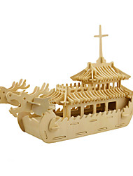 Jigsaw Puzzles 3D Puzzles Building Blocks DIY Toys Ship 1 Wood Model & Building Toy
