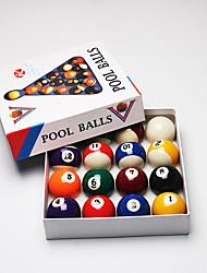Billiard Balls Pool Case Included Resin