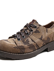 Men's Oxfords Spring Summer Fall Winter Comfort Nappa Leather Outdoor Office & Career Casual Work & Safety Hiking
