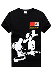 Taekwondo Summer Full Cotton  T-shirts