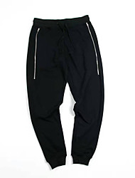 Men's Low Rise Stretchy Chinos Sweatpants Pants,Active Loose Solid