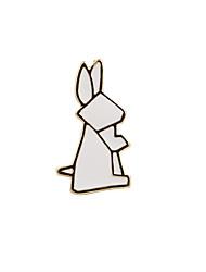 Женский Броши Бижутерия Уникальный дизайн Мода обожаемый Euramerican Эмаль Сплав В форме животных Бижутерия Назначение Свадьба Для