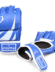 Exercise Gloves Boxing Gloves for Leisure Sports Fitness Muay Thai Full-finger Gloves Waterproof Protective Stretchy PU