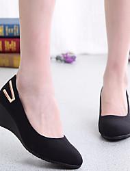 Женская одежда весна комфорт pu casual чёрный
