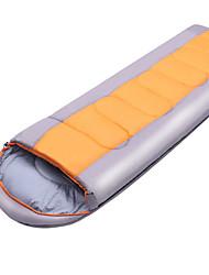 Saco de dormir Retangular Solteiro (L150 cm x C200 cm) -5~15 Algodão T/C 220X75 Campismo Exterior Mantenha Quente 自由之舟骆驼