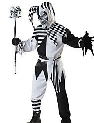 Costumes de Cosplay Squelette/Crâne Ange et Diable Monstre Cosplay Fête / Célébration Déguisement d'Halloween Mode Haut Pantalon
