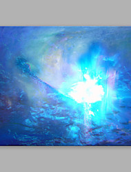 IARTS®Hand Painted Landscape Oil Painting Abstract Blue Vortex with Stretched Frame Ready to Hang