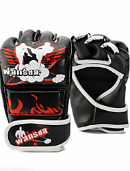 Boxing Gloves for Boxing Leisure Sports Martial art Fitness Fingerless Gloves Wearproof Shockproof High Elasticity Protective