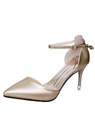 Da donna-Sandali-Matrimonio Tempo libero Formale Casual Serata e festa-Innovativo Club Shoes-A stiletto-Vernice-