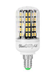 YouOKLight 1PCS E12 6W AC110-130V 108*5733 SMD LED Warm White High Luminous Corn Bulb Spotlight LED Lamp Candle Light for Home Lighting