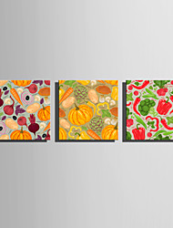E-HOME Stretched Canvas Art Colorful Vegetables  Decoration Painting One Pcs