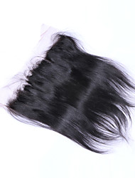 12inch braizlian fermeture frontale en dentelle droite meilleures fermetures de cheveux humains vierges fermeture sans brazilian / milieu