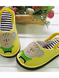 Kids' Baby Loafers & Slip-Ons First Walkers Fabric Spring Summer Casual Outdoor First Walkers Flat Heel Yellow 1in-1 3/4in