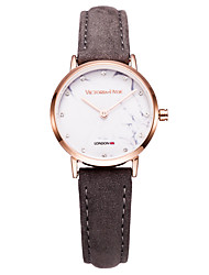 Women's Dress Watch Fashion Watch Wrist watch Casual Watch Japanese Japanese Quartz Water Resistant / Water Proof Genuine Leather Band