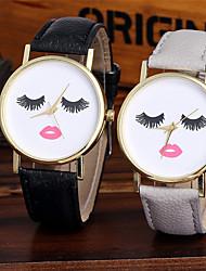 Женские Модные часы Наручные часы Уникальный творческий часы Повседневные часы Китайский Кварцевый Цветной / Кожа ГруппаБлестящие Cool