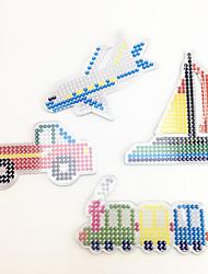 Kit de Bricolage Jouet Educatif Puzzle Art & Dessin Nouveautés & Farces Avion Traîne Bateau Camion Plastique EVA
