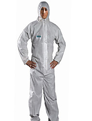 Sata Anti-static Clothing XXXLBreathable Film Dust-proof And Anti-static Paint Chemical Protective ClothingOveralls With Cap Garment /1