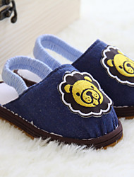 Boys' Slippers & Flip-Flops Spring Fall Slingback Fabric Casual Flat Heel