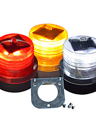 Solar LED Warning Light / Construction Warning Light / Magnetic Shock Flash / Traffic Barrier Warning Light Fire Warning Light