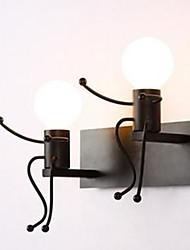 AC 110-130 AC 220-240 40 E26/E27 Rustique/Campagnard Peintures Fonctionnalité for LED,Eclairage d'ambiance Chandeliers murauxApplique