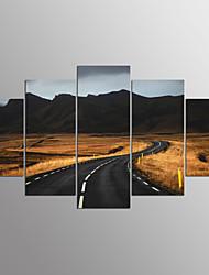 Протянутый холст печати люди современные, пять панелей холст любой форме печати декор стены для домашнего украшения