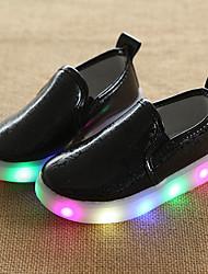 Garçon-Mariage Extérieure Décontracté--Talon Bas-Confort Premières Chaussures Semelles Légères Light Up Chaussures chaussures Luminous-