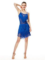 Shall We Latin Dance Dresses Women's  Performance Milk Fiber Dress