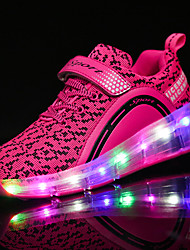 Kids Boys Girls' Athletic Shoes Summer Fall Light Up Shoes Luminous Shoe Tulle Outdoor Roller Skate Shoes Casual LED Sport Shoes