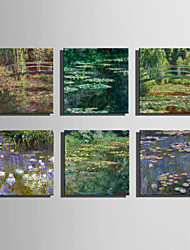 The Logicians Oil Painting Engraved Canvas Print Wall Art Claude Monet 1 Multi Style Selection
