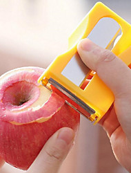 1Pcs  Multifunction Apple Peeler Pencil Sharpener Shape Fruit Peelers & Zesters Planing Knife Fruit & Vegetable Tools Random  Color