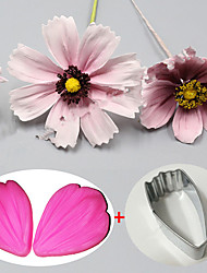 3Pcs  Cutter Flower Petal Cutter Fondant  Stainless Steel Cutter Cake Decorating Moulds