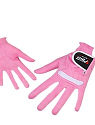 A Pair Ladies Golf Gloves Super Fiber Cloth