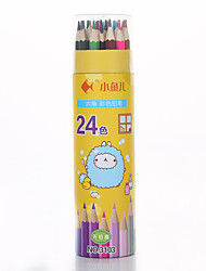 Paint pencils in 24 colors