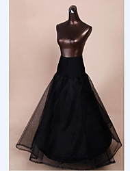 Slips A-Line Slip Ball Gown Slip Tea-Length 2 Nylon Tulle Netting Polyester