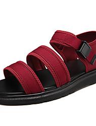 Unisex sandálias verão conforto par sapatos solas luz pu casuais