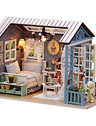 Casa de Boneca Brinquedos Criativos & Pegadinhas Casa Madeira