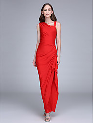 LAN TING BRIDE Ankle-length Straps Bridesmaid Dress - Furcal Sleeveless Jersey