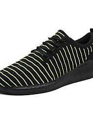 Chaussures de sport pour hommes Chaussons de printemps Confort Tissu Tulle Outdoor Athletic Casual Bleu Vert Gris Noir