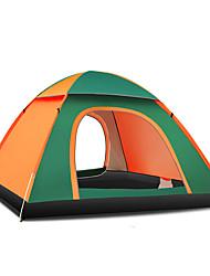 3-4 Personen Zelt Einzeln Automatisches Zelt Einzimmer Camping Zelt 1500-2000 mm Glasfaser OxfordFeuchtigkeitsundurchlässig Wasserdicht