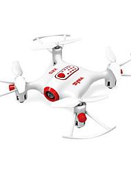 Drohne 4 Kan?le 6 Achsen 2.4G - Ferngesteuerter Quadrocopter LED - Beleuchtung Auto-Takeoff Kopfloser Modus 360-Grad-Flip Flug Schweben