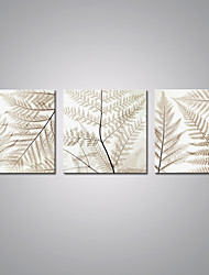 Stretched Canvas Prints  Light Color Leaf Picture Print on Canvas Contemporary Nature Art for  Home Decoration