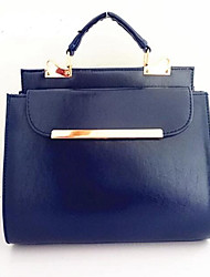 Women PU Outdoor Shoulder Bag Ruby Pool