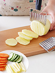 Creativity Is Muti_function Stainless Steel Shredder Vertical Type Wave Spike Potatoes Bar Cutting Machine Fries Knife