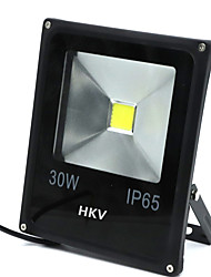 1 Pcs HKV® 30W 2850-2950LM 2800-3200K 6000-6500K Warm White Cold White LED Floodlight (AC 85-265V)