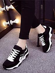 Chaussures de sport pour femmes confort occasionnel occasionnel rouge violet noir