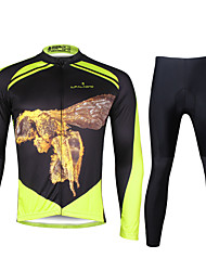Ilpaladin Sport Men Long Sleeve Cycling Jerseys Suit CT737