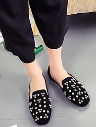 Damen-Stiefel-Lässig-Silica GelLeuchtende Sohlen-Schwarz